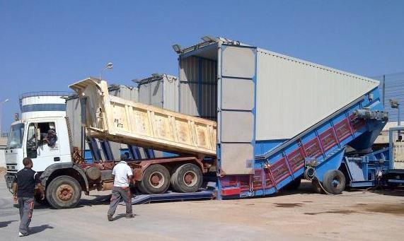 Samson® Mobile Material Feeder
