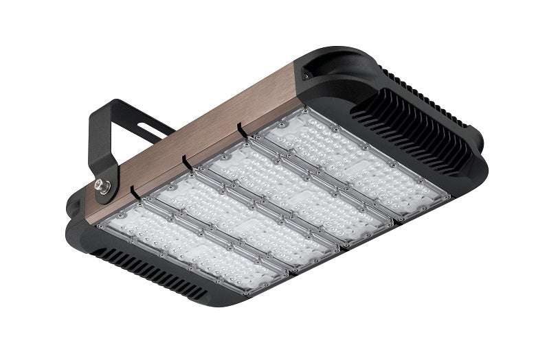 Driverless module LED floodlight