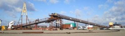 Thor Global has delivered a ship unloading system to Miller Agreggates South West