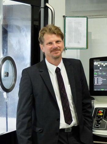 Uwe Walter, Managing Director of Stieber