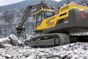 The new EC380D and EC480D excavators not only offer greater digging force and faster cycle times, they perform relentlessly and boast fuel efficiency improvements of up to 14%.