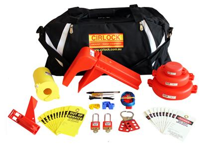 cirlock valve lockout kit