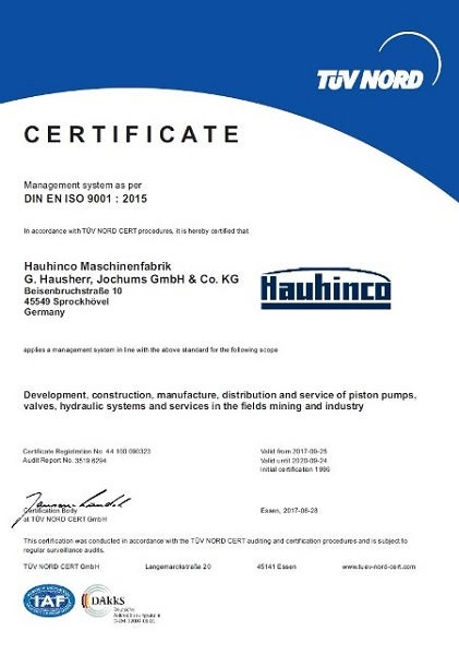 Quality-Management Standard ISO 9001: 2015