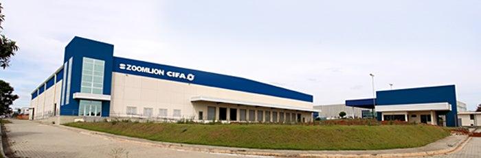 Zoomlion CIFA Brazil in Indaiatuba City.