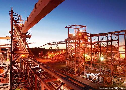 Copper-Uranium mine