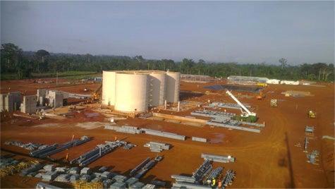 Agbaou gold mine