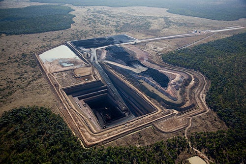 Alpha coal mine