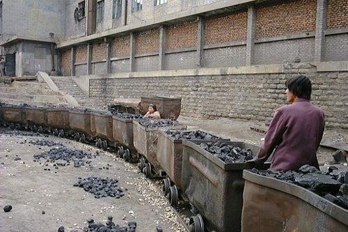 Coal mine in Shanxi,China