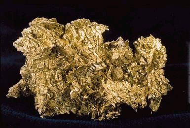Crystalline gold