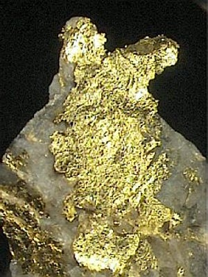 Gold ore, Canada