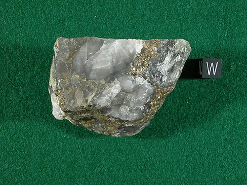 Gold ore in Africa