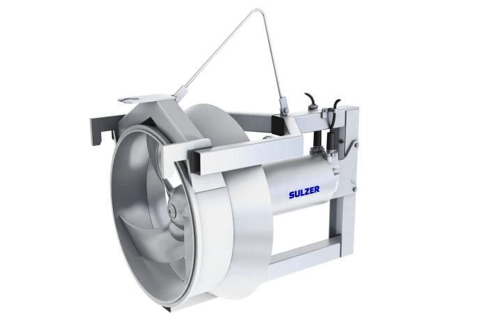 High-efficiency recirculation pump